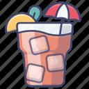 ice, tea, beverage, drink icon