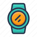 time, timepiece, watch, wrist watch icon