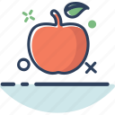 apple, apple icon, food, fruit, healthy, lifestyle, sweet icon