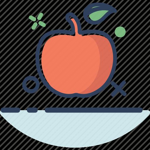 apple, apple icon, food, fruit, healthy, lifestyle, sweet icon