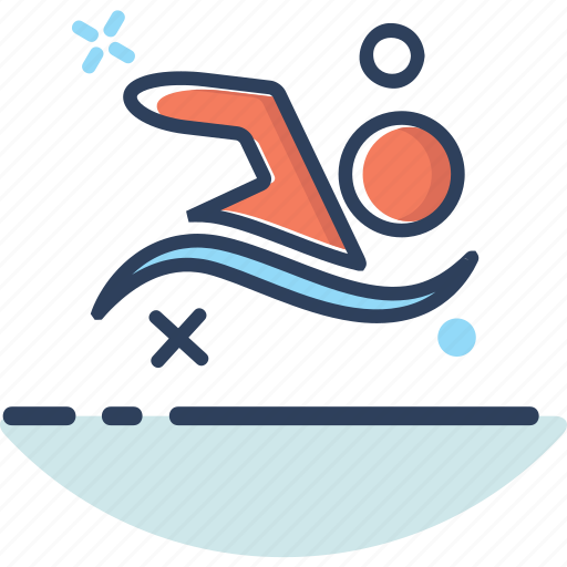 health, healthcare, lifestyle, sport, swim, swimming, water icon