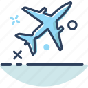 airplane, lifestyle, plane, transport, transportation, travel, vehicle icon