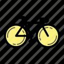 biycycle, lifestye, school, transportation icon