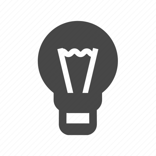 bulb, lamp, light, lighting icon