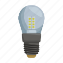 electric, incandescent, light, light bulb, source icon