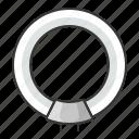 bright, bulb, circular fluorescent lamp, electric, electrodeless lamp, fluorescent, light, lightbulb icon