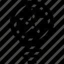 bulb, energy, idea, light, light bulb, star, tip icon