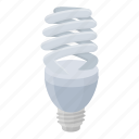 eco, economical, electric, lamp, light, source icon
