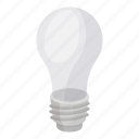 electric, glass, incandescent, light, light bulb, source icon