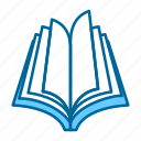 book, education, learning, library, reading, school, student icon