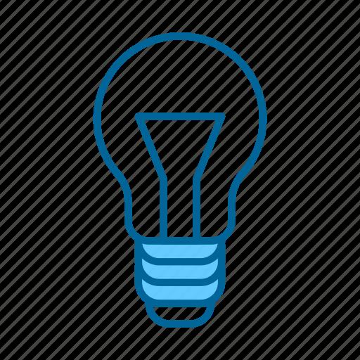 bulb, business, creative, creativity, idea, innovation, solution icon