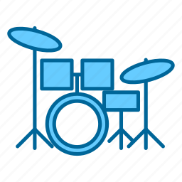 band, drums, music, percussion, pop, rock, song icon