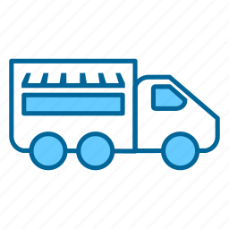 business, food, food truck, gastronomy, restaurant, truck, vehicle icon