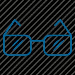 eye, eyeglasses, glasses, look, spectacles, sunglasses, vision icon