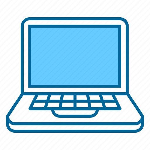 computer, device, laptop, monitor, office, technology, work icon