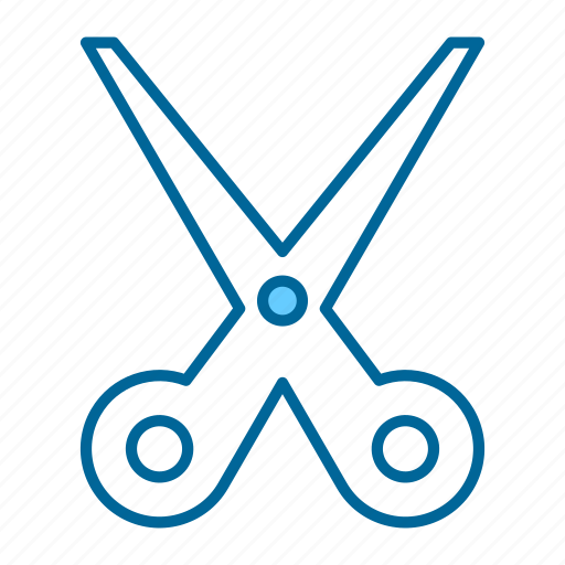 blade, cut, hair, paper, scissors, seamstress, tool icon