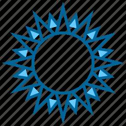 heat, hot, light, summer, sun, sunlight, weather icon