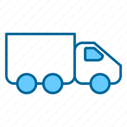 delivery, freight, load, transport, transportation, truck, vehicle icon