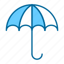 protection, rain, rainny, safety, sun, umbrella, weather icon
