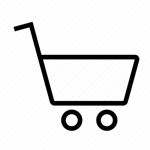 buy, cart, items, line, price, purchase, shopping icon