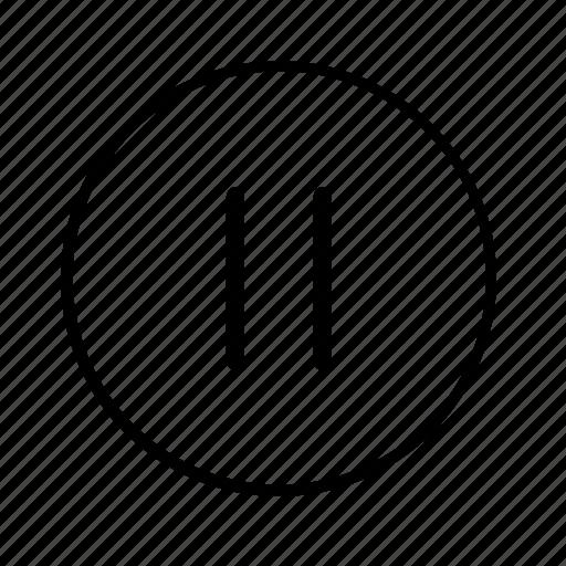 audio, light, media, pause, stop icon