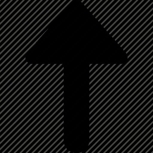arrow, direction, previous, up icon