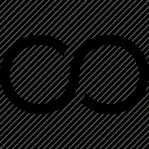 infinity, loop icon