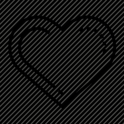 care, heart, kindness, love icon