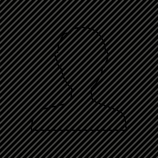 account, avatar, me, person, profile, user, you icon