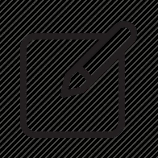 annotate, arrange, edit, fix, jot, note, write icon