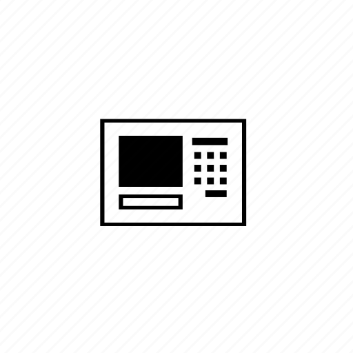 block, control, line, panel, safe icon