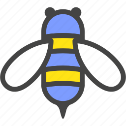 bee, bug, honey, hornet, insect, nature, wasp icon