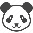bear, china, nature, panda, zoo icon