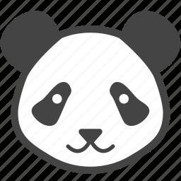 bear, china, nature, panda, zoo icon