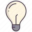 bulb, check, electric, good idea, light bulb, new idea icon