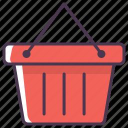 basket, buy, cart, online shopping, shop, shopping, shopping basket icon