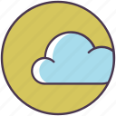 cloud, data, data base, database, forecast, server, weather icon