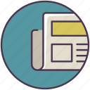 document, finance, journal, magazine, news, newspaper, tabloid icon