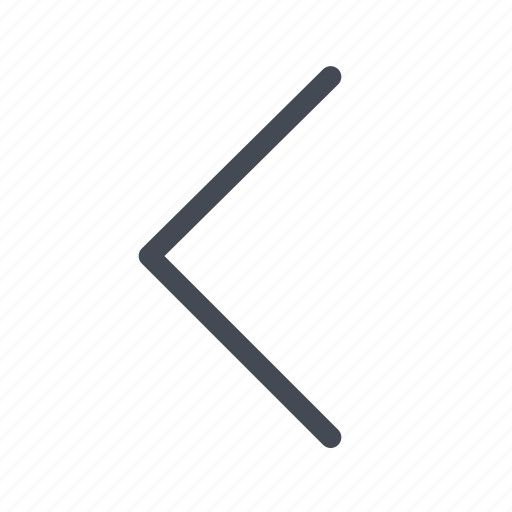 arrow, chevron, expand, left icon