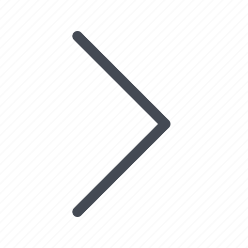 arrow, chevron, expand, right icon