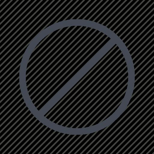 forbidden, restricted icon
