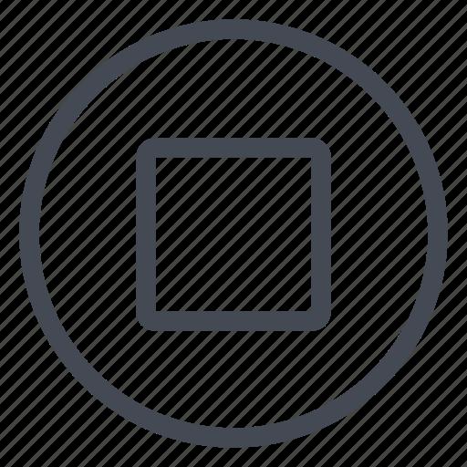 bluray, dvd, media, multimedia, stop, tape icon