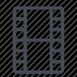 film, media, movie, multimedia, play, video, watch icon