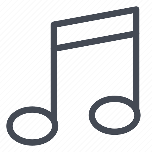 listen, media, multimedia, music, note, play, song icon