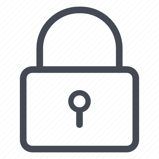 lock, locked, padlock, privacy, safe, safety, security icon