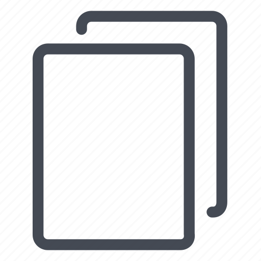 blank, document, new, pages, portrait, sheets, start icon