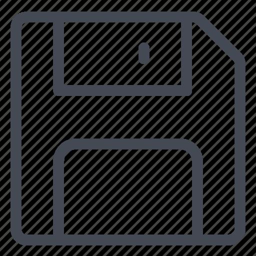 data, diskette, document, file, save, storage icon
