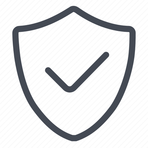active, ok, protect, protection, secure, security, shield icon
