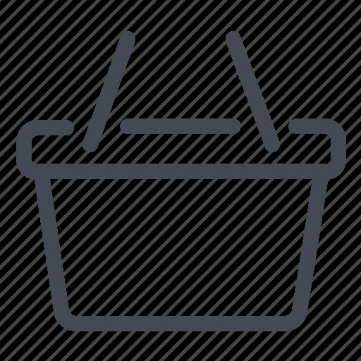 basket, buy, cart, marketplace, products, shopping icon