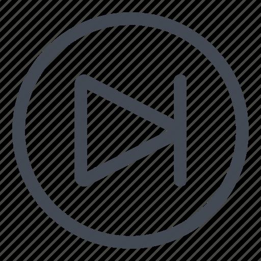 btn, circle, goto, next icon